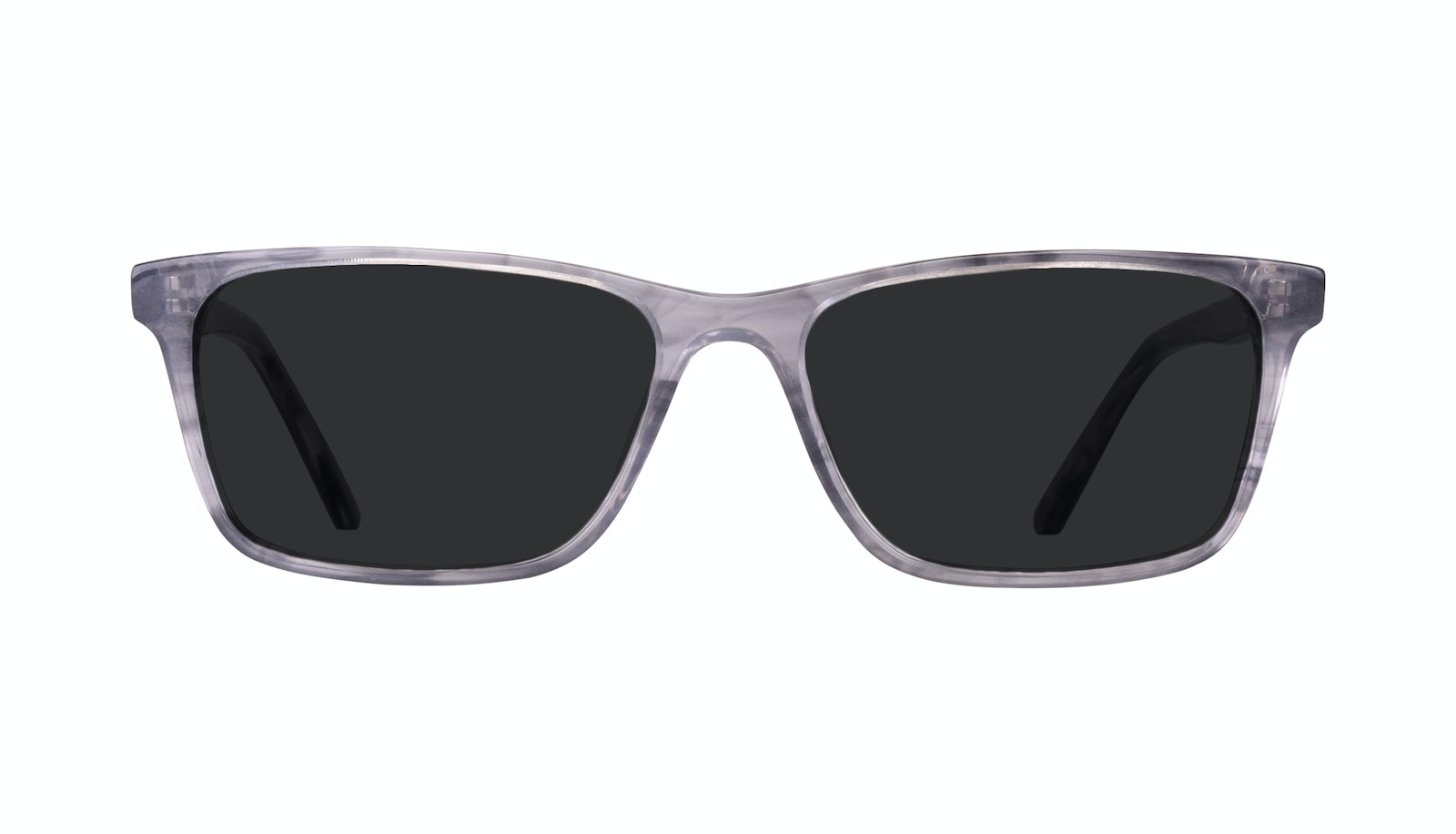 Affordable Fashion Glasses Rectangle Sunglasses Men Henri Smokey Grey