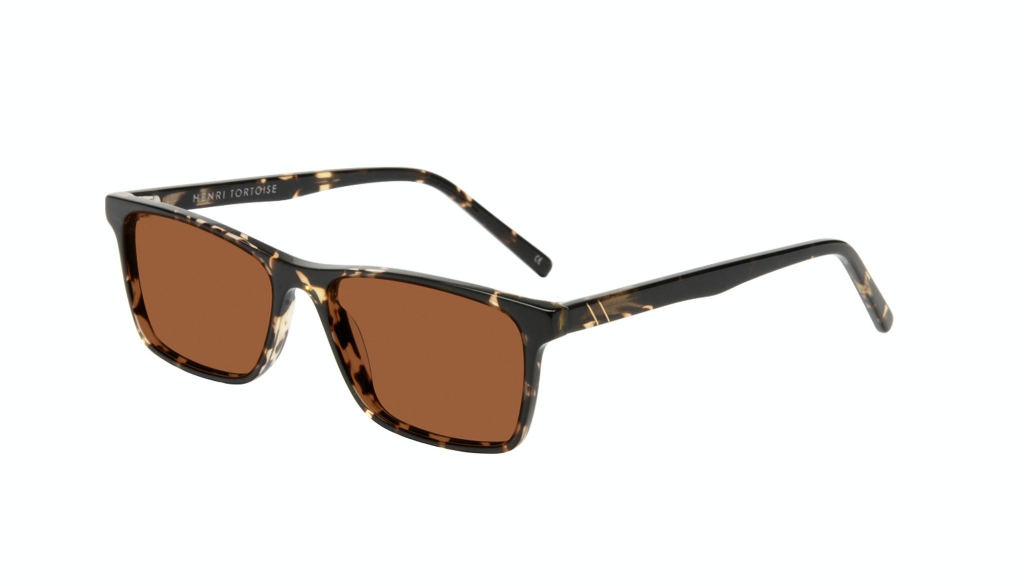 Affordable Fashion Glasses Rectangle Sunglasses Men Henri Tortoise Tilt