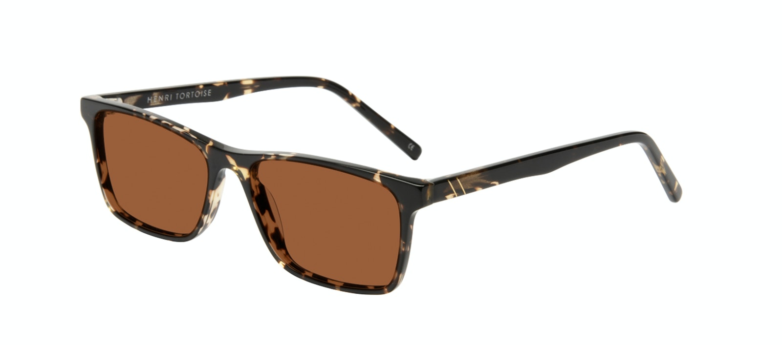 Affordable Fashion Glasses Rectangle Sunglasses Men Henri Tortoise Tilt