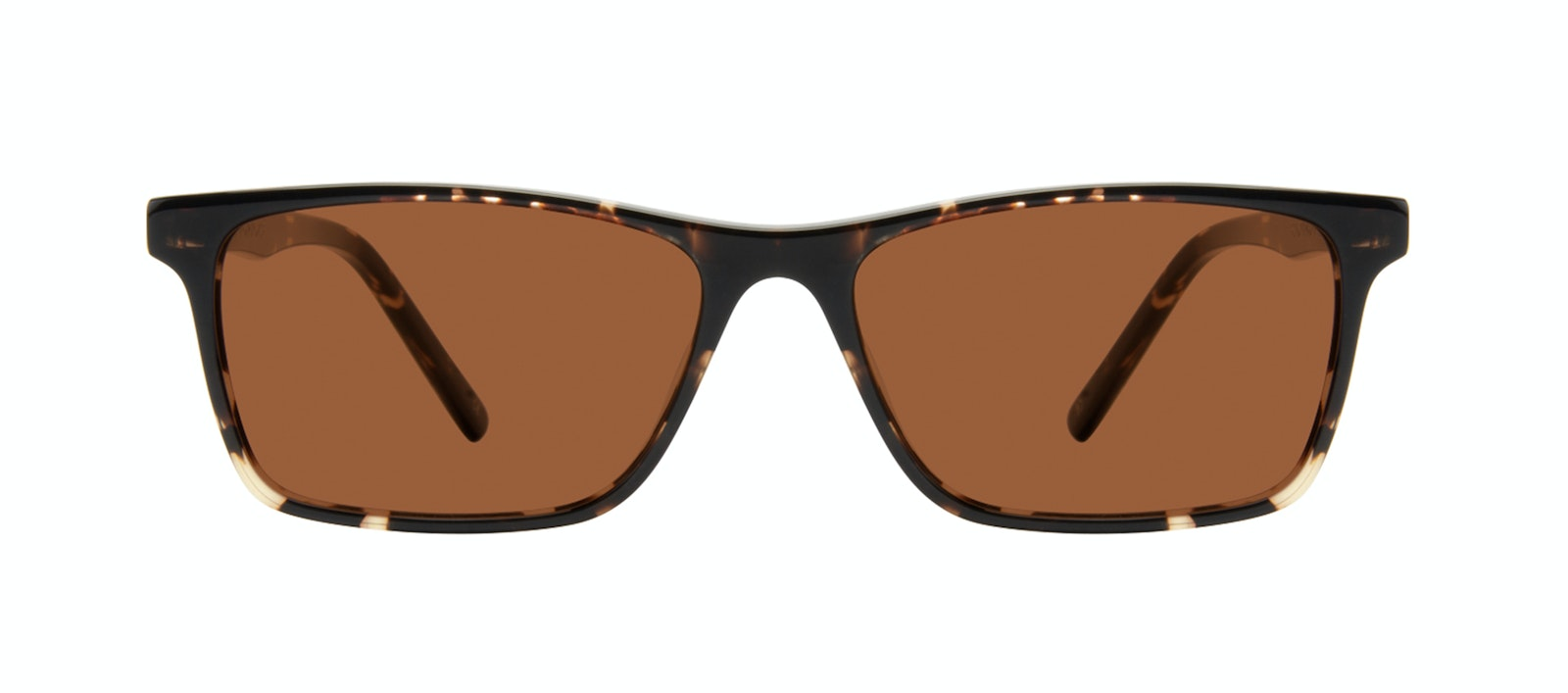 Affordable Fashion Glasses Rectangle Sunglasses Men Henri Tortoise Front