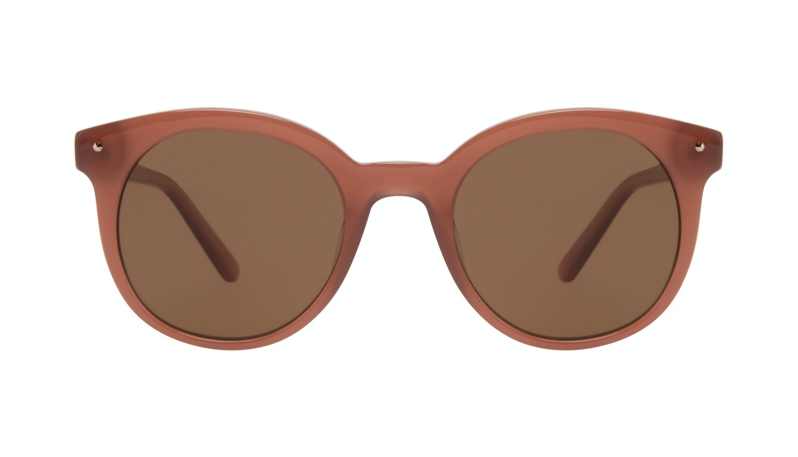 Affordable Fashion Glasses Round Sunglasses Women Hip Toffee