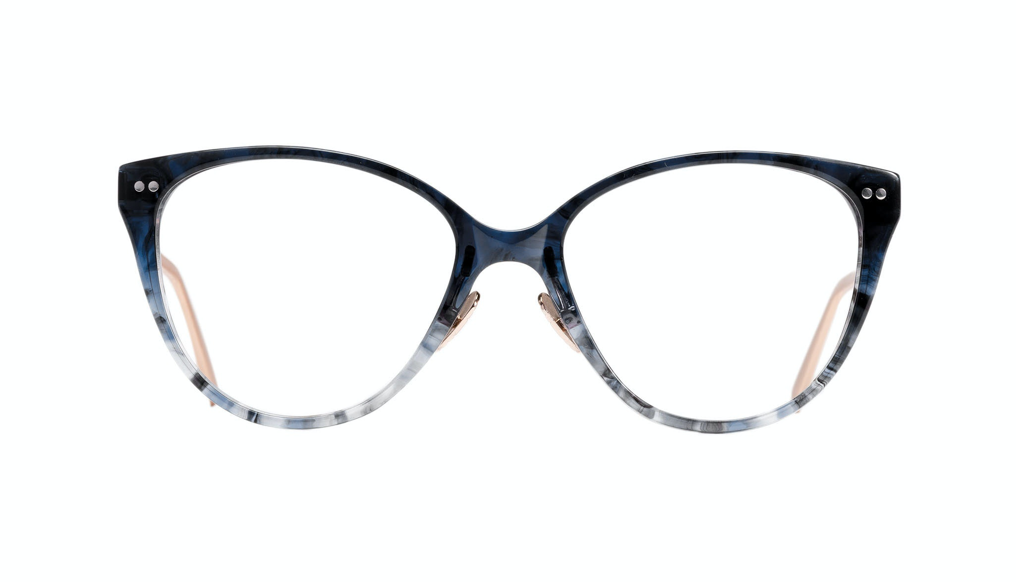 Affordable Fashion Glasses Cat Eye Eyeglasses Women Hope Midnight Front
