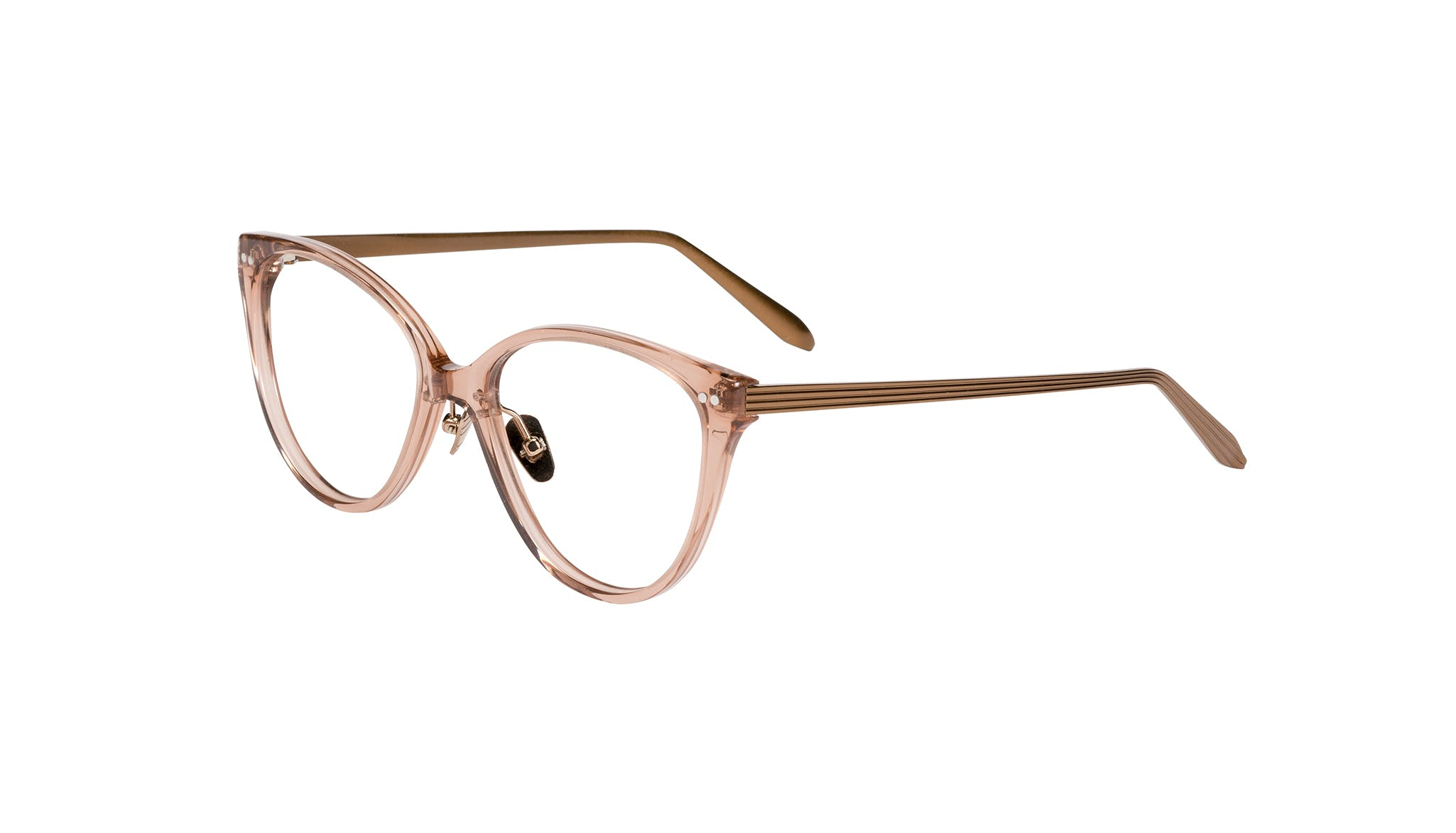 Affordable Fashion Glasses Cat Eye Eyeglasses Women Hope Rose Tilt