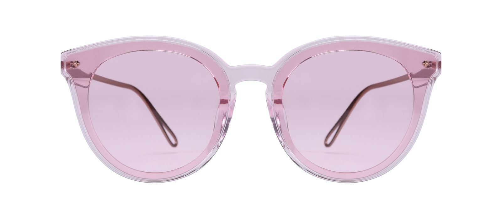 8c5bbf12c9f1 Affordable Fashion Glasses Cat Eye Sunglasses Women Icone Rose Front