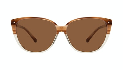 Affordable Fashion Glasses Cat Eye Sunglasses Women Icone Tan Front
