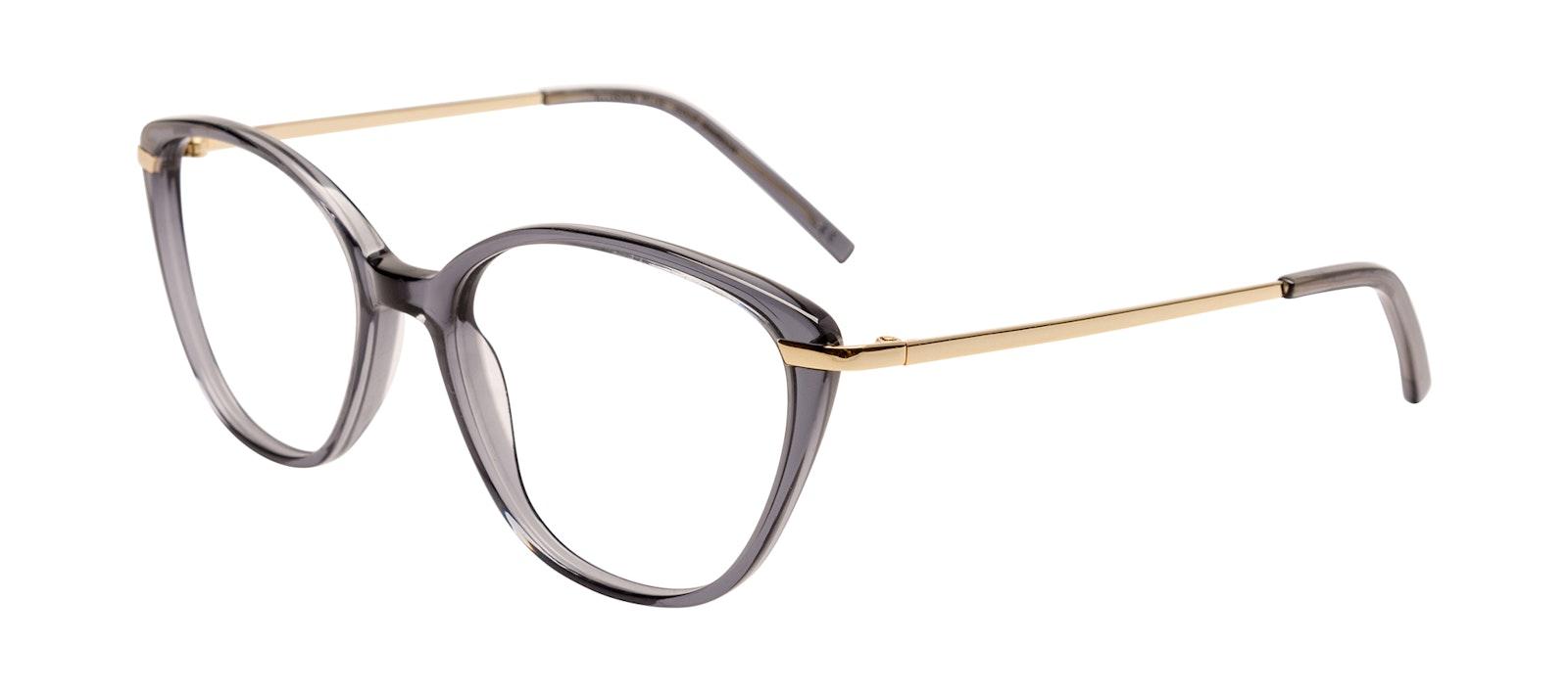 Affordable Fashion Glasses Eyeglasses Women Illusion Plus Gold Shadow Tilt