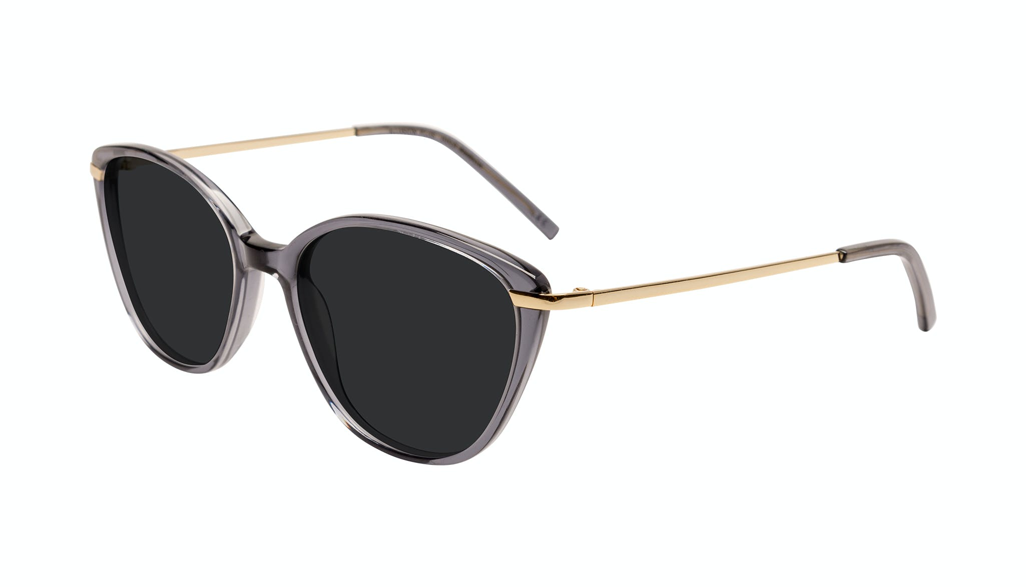 Affordable Fashion Glasses Cat Eye Sunglasses Women Illusion Plus Gold Shadow Tilt