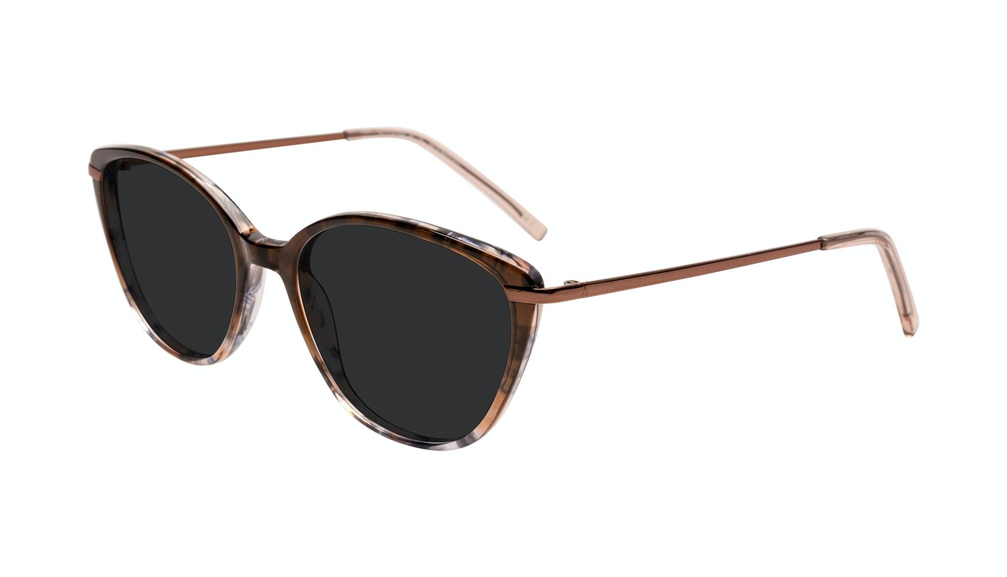 Affordable Fashion Glasses Cat Eye Sunglasses Women Illusion Plus Moondust Tilt