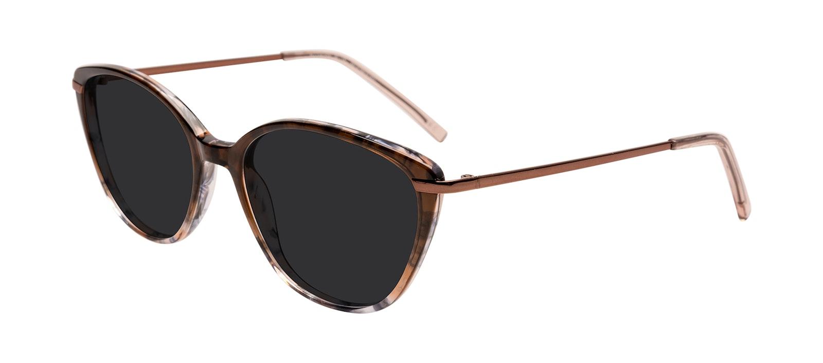 Affordable Fashion Glasses Sunglasses Women Illusion Plus Moondust Tilt
