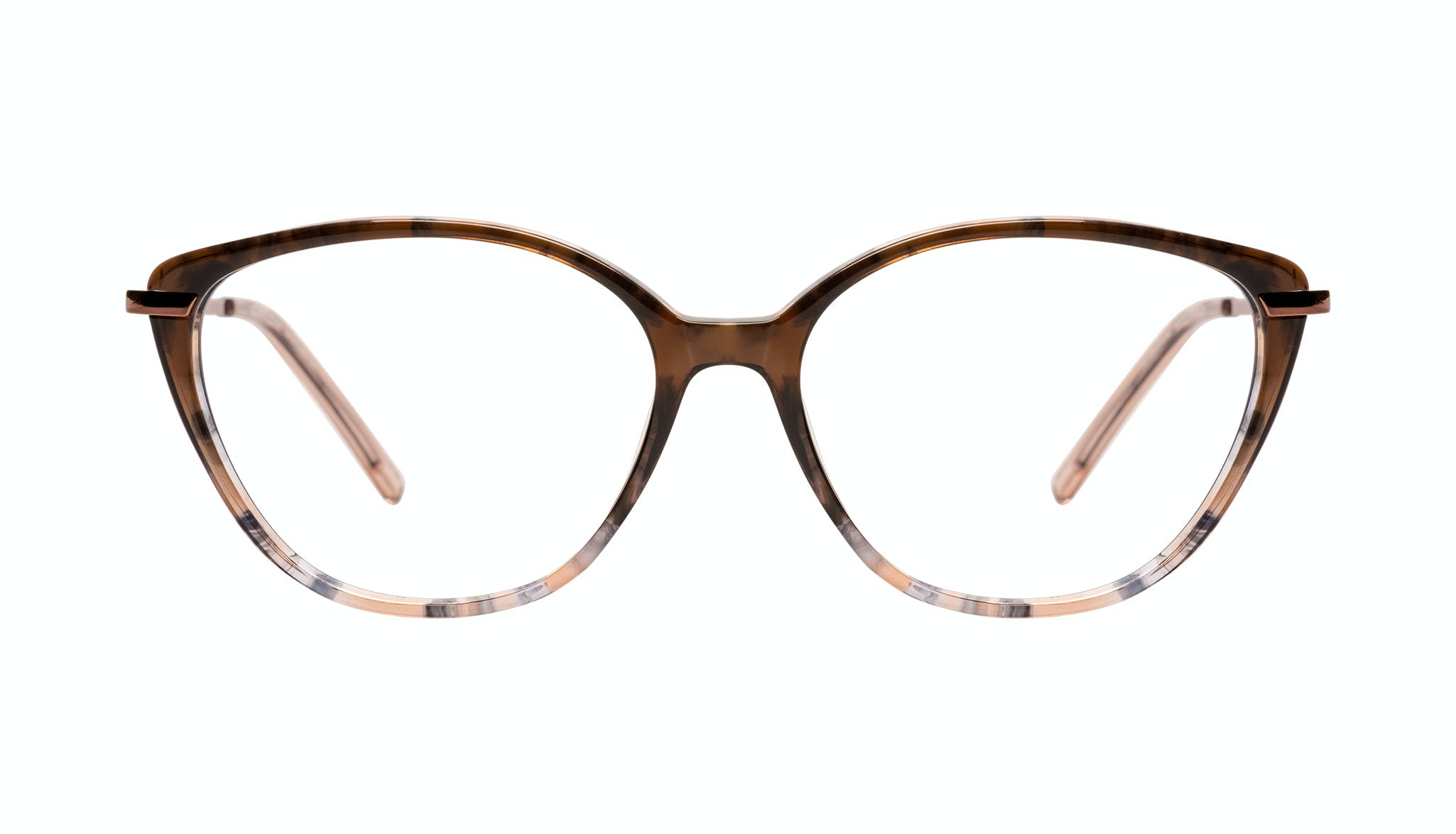 Affordable Fashion Glasses Cat Eye Eyeglasses Women Illusion Plus Moondust Front