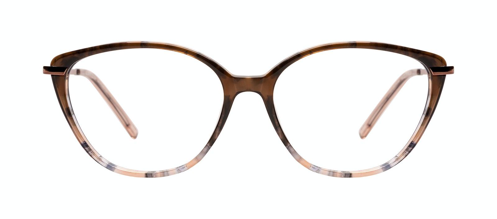 Affordable Fashion Glasses Eyeglasses Women Illusion Plus Moondust Front