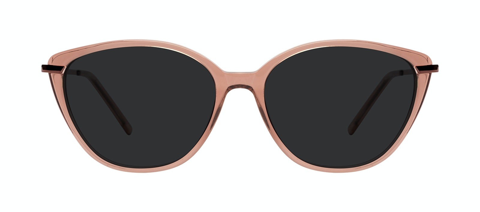 Affordable Fashion Glasses Sunglasses Women Illusion Plus Rose Front