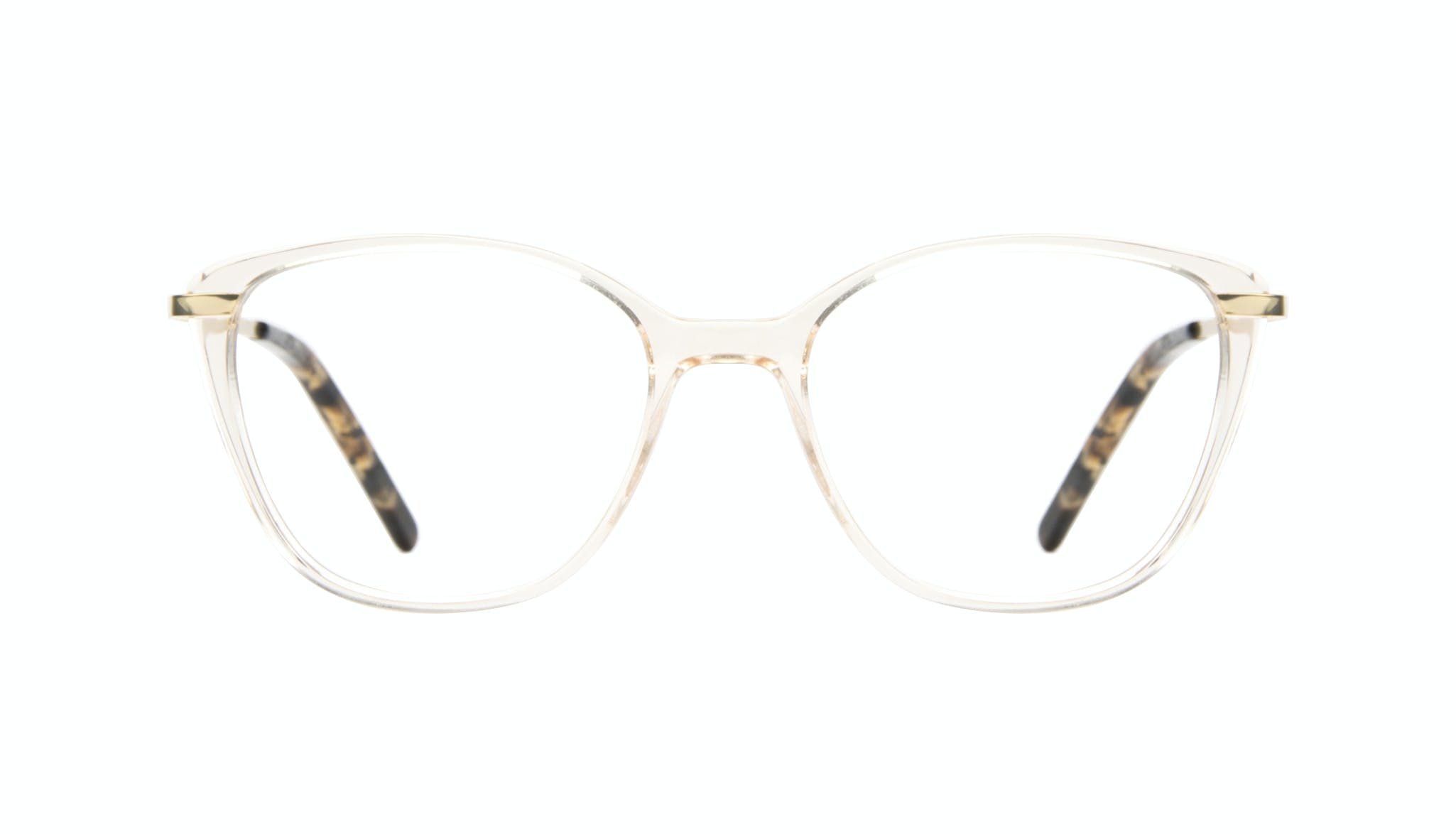 Affordable Fashion Glasses Cat Eye Rectangle Square Eyeglasses Women Illusion Blond Metal Front