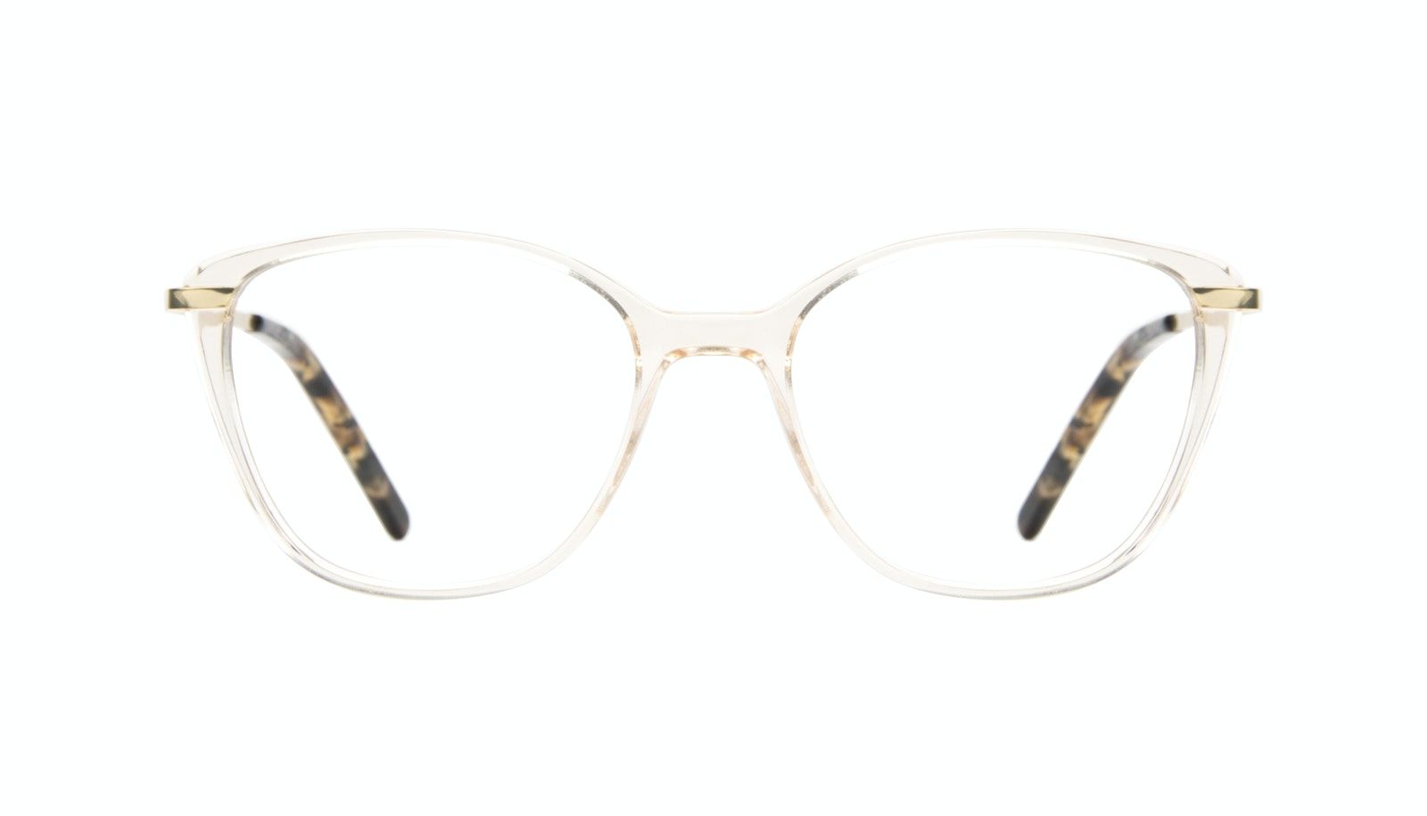 Affordable Fashion Glasses Cat Eye Rectangle Square Eyeglasses Women Illusion Blond Metal