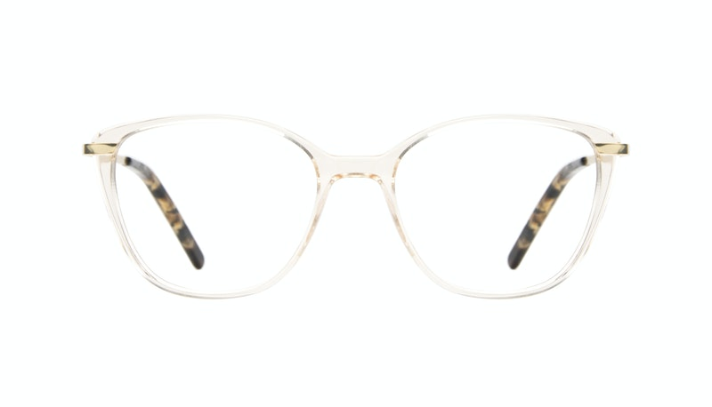 238d07b4211 Affordable Fashion Glasses Cat Eye Rectangle Square Eyeglasses Women  Illusion Blond Metal