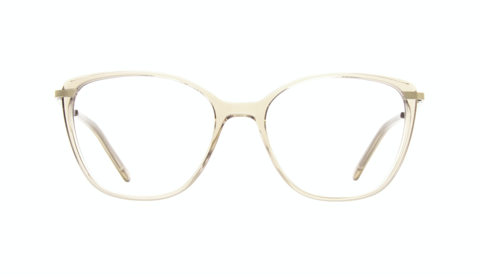 Affordable Fashion Glasses Rectangle Square Eyeglasses Women Illusion Blond
