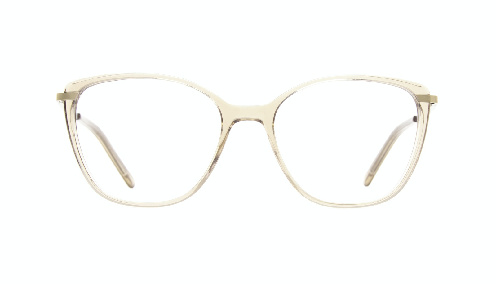 Affordable Fashion Glasses Rectangle Square Eyeglasses Women Illusion M Blond