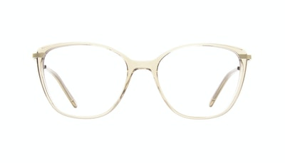 Affordable Fashion Glasses Rectangle Square Eyeglasses Women Illusion Blond Front