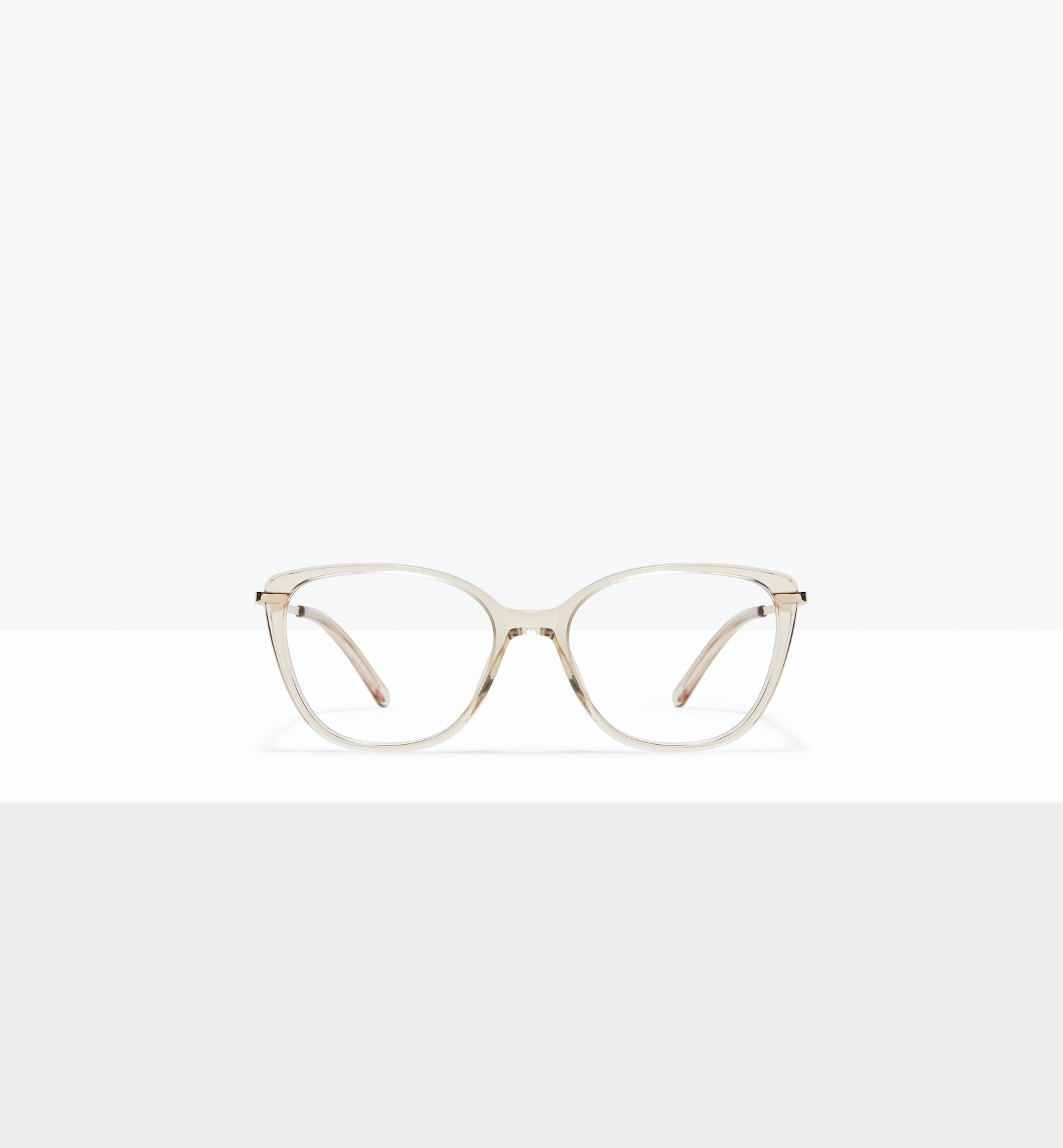 Affordable Fashion Glasses Rectangle Square Eyeglasses Women Illusion XS Blond