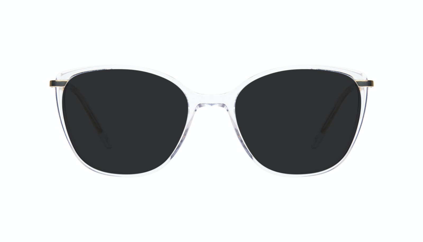 Affordable Fashion Glasses Rectangle Square Sunglasses Women Illusion Gold Diamond