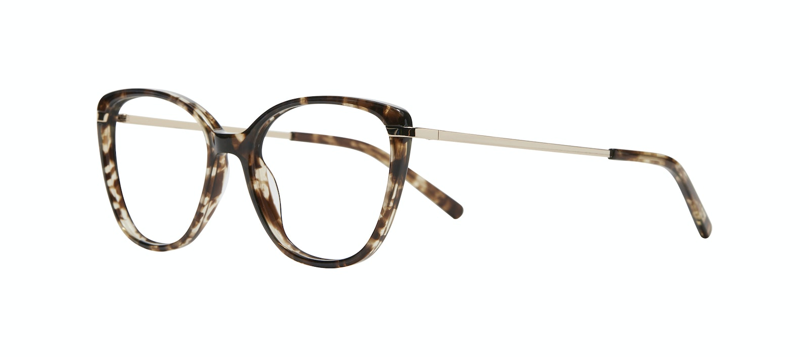 Affordable Fashion Glasses Rectangle Square Eyeglasses Women Illusion Leopard Tilt