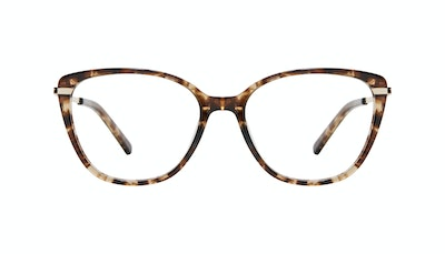 Affordable Fashion Glasses Rectangle Square Eyeglasses Women Illusion Leopard Front