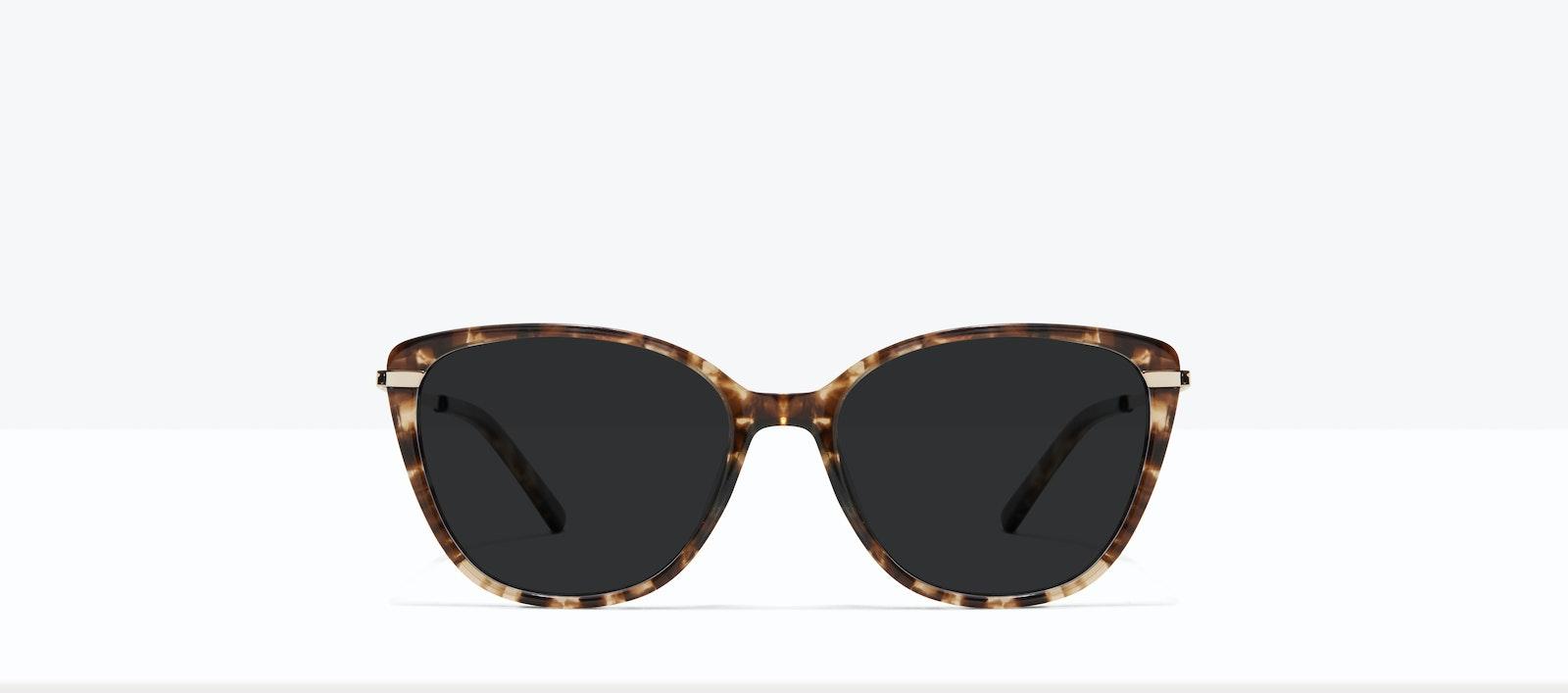 Affordable Fashion Glasses Rectangle Square Sunglasses Women Illusion L Leopard Front