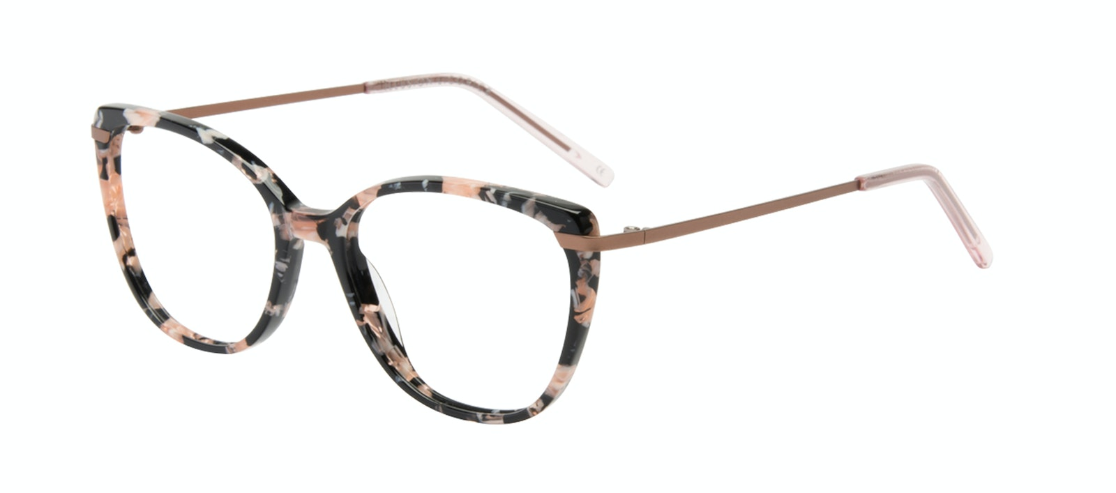 Affordable Fashion Glasses Cat Eye Rectangle Square Eyeglasses Women Illusion Licorice Tilt