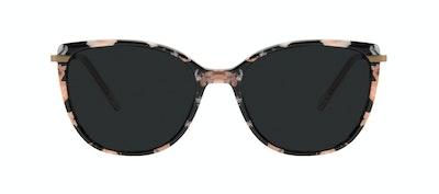Affordable Fashion Glasses Rectangle Square Sunglasses Women Illusion M Licorice Front