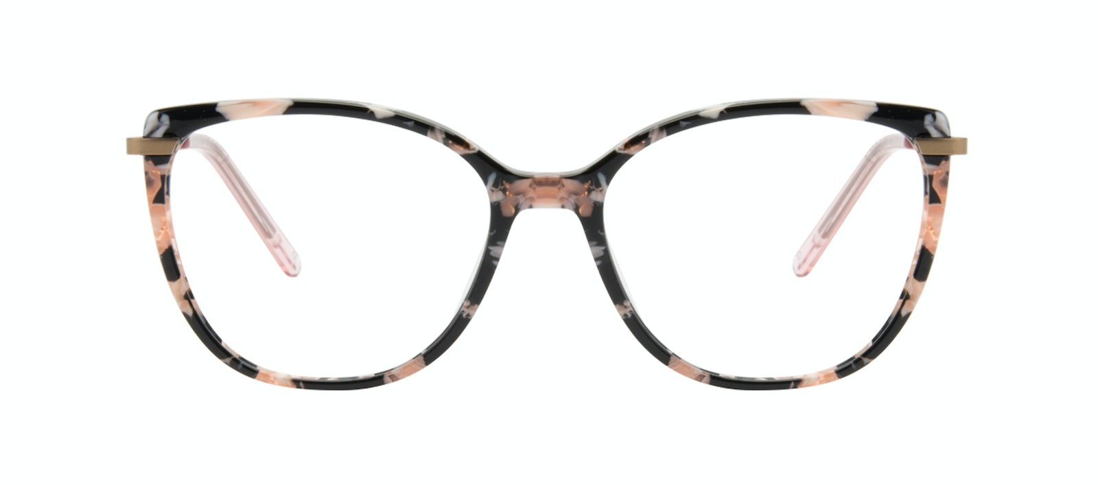 Affordable Fashion Glasses Rectangle Square Eyeglasses Women Illusion Licorice Front