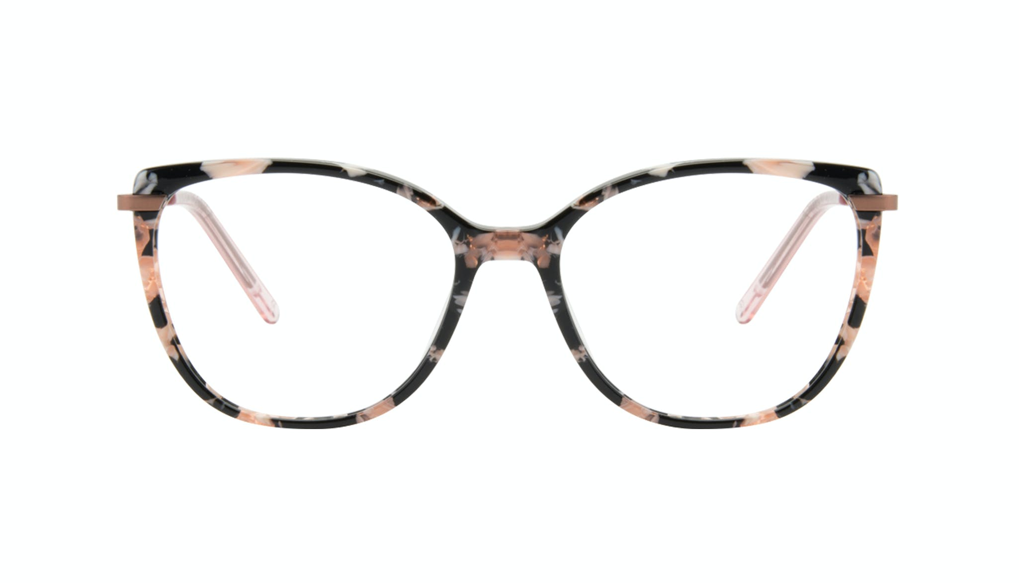 Affordable Fashion Glasses Cat Eye Rectangle Square Eyeglasses Women Illusion Licorice Front