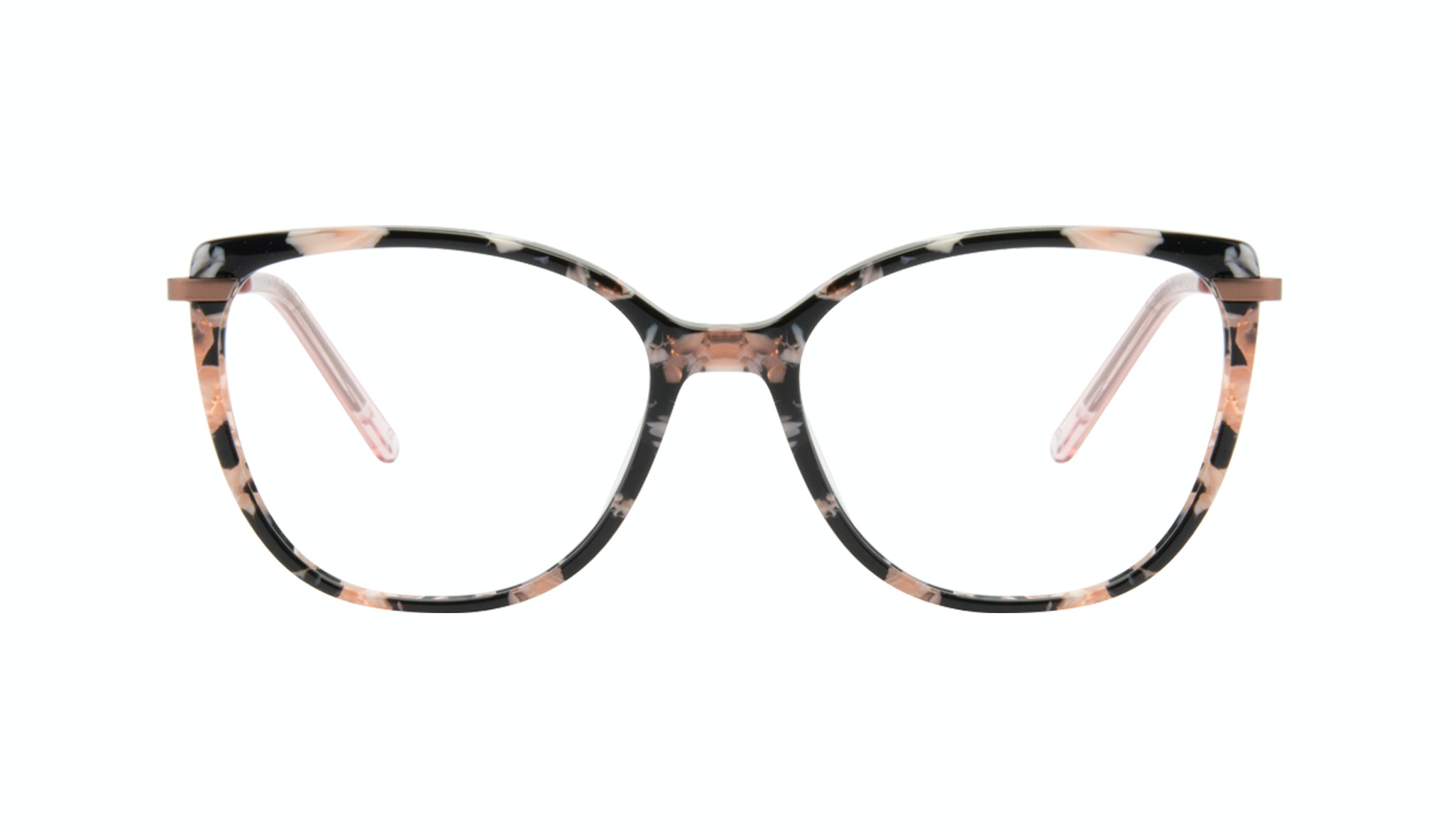 Affordable Fashion Glasses Cat Eye Rectangle Square Eyeglasses Women Illusion Licorice