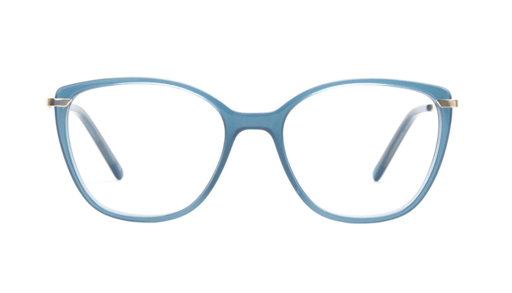 Affordable Fashion Glasses Cat Eye Rectangle Eyeglasses Women Illusion Marine Front
