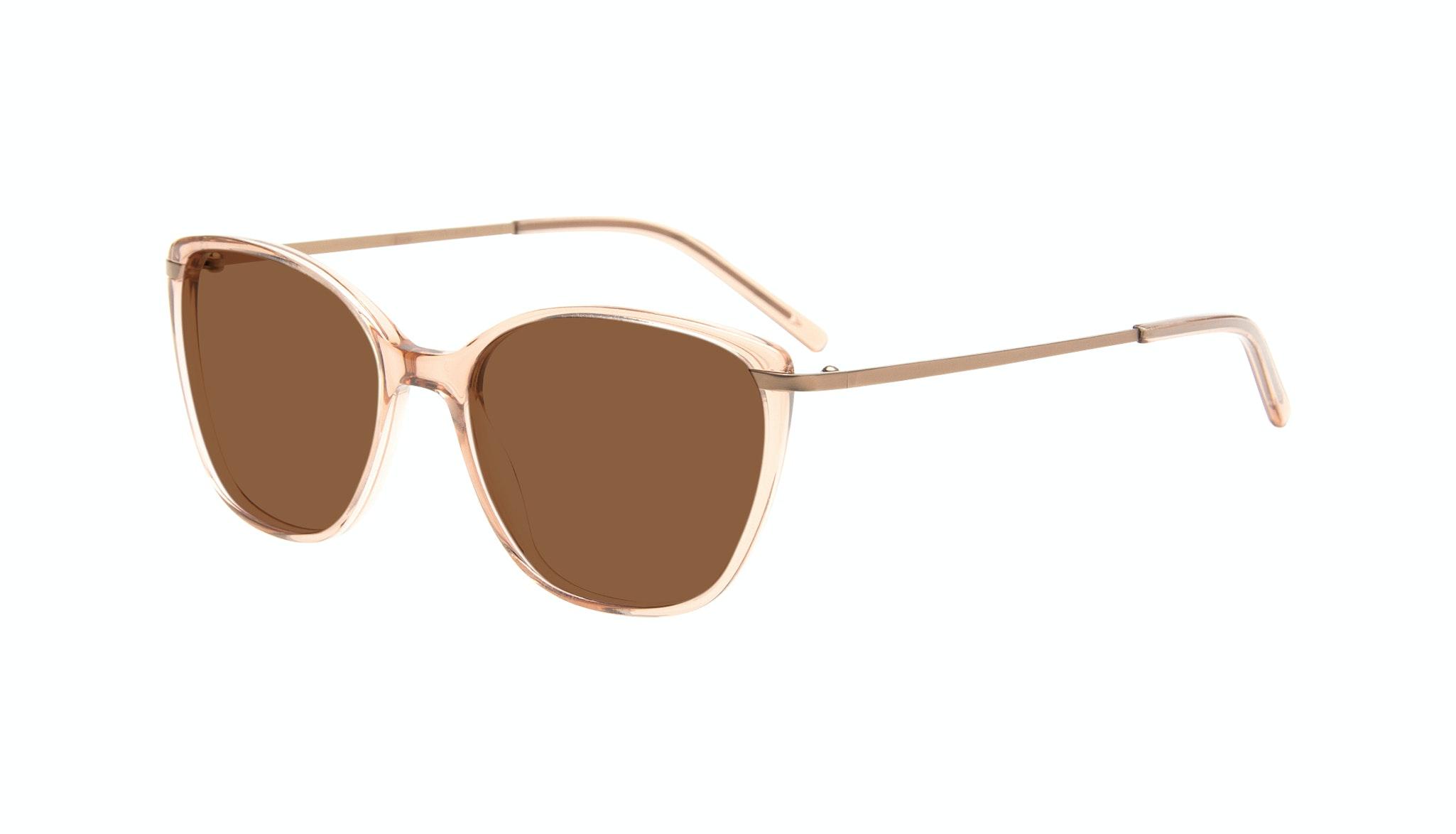 Affordable Fashion Glasses Cat Eye Rectangle Square Sunglasses Women Illusion Rose Tilt