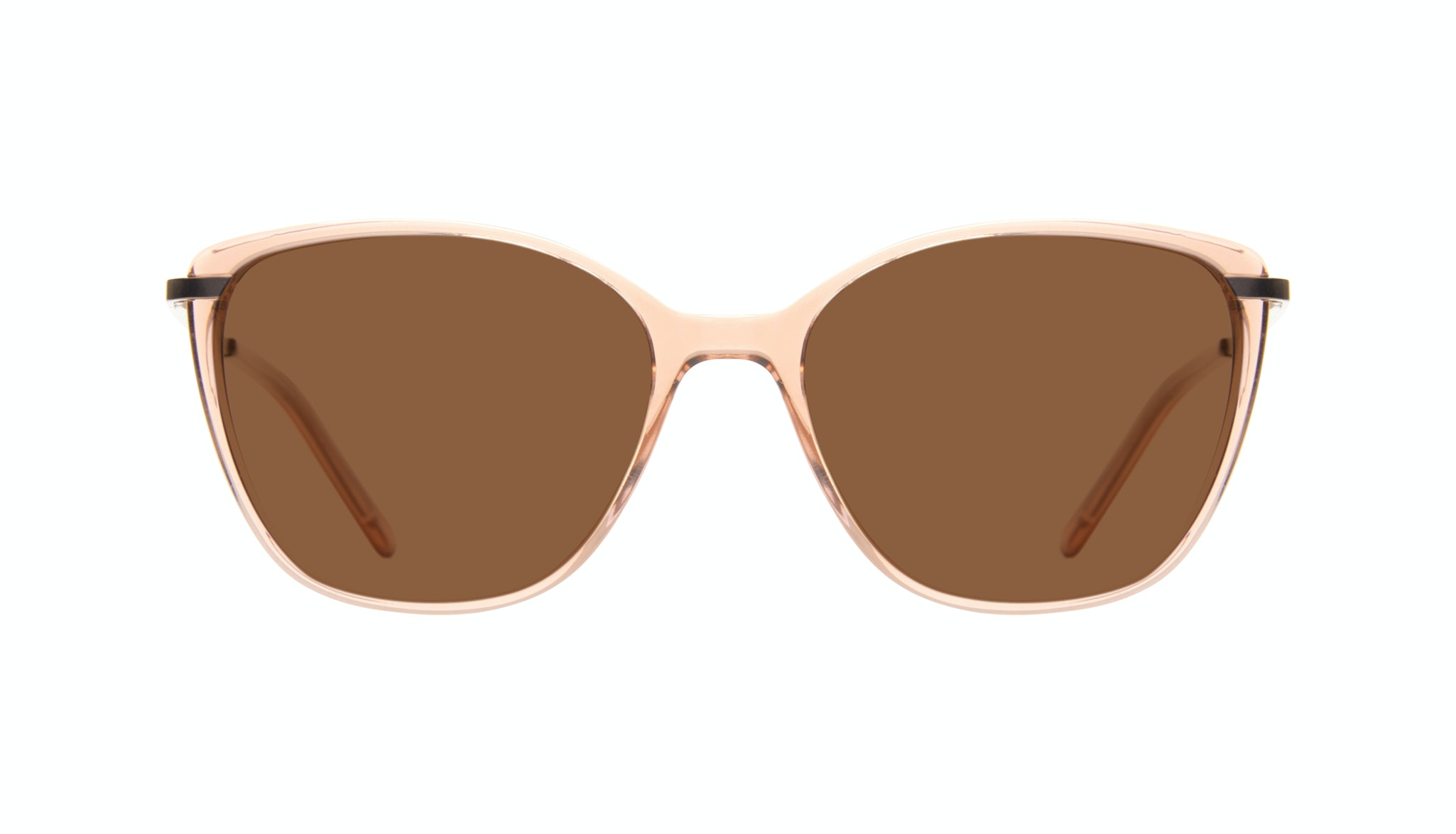 Affordable Fashion Glasses Cat Eye Rectangle Square Sunglasses Women Illusion Rose Front