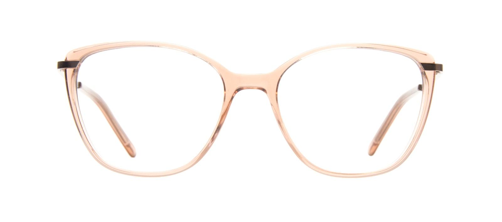 Affordable Fashion Glasses Rectangle Square Eyeglasses Women Illusion Rose Front