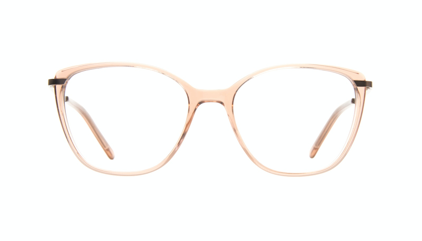 Affordable Fashion Glasses Cat Eye Rectangle Square Eyeglasses Women Illusion Rose