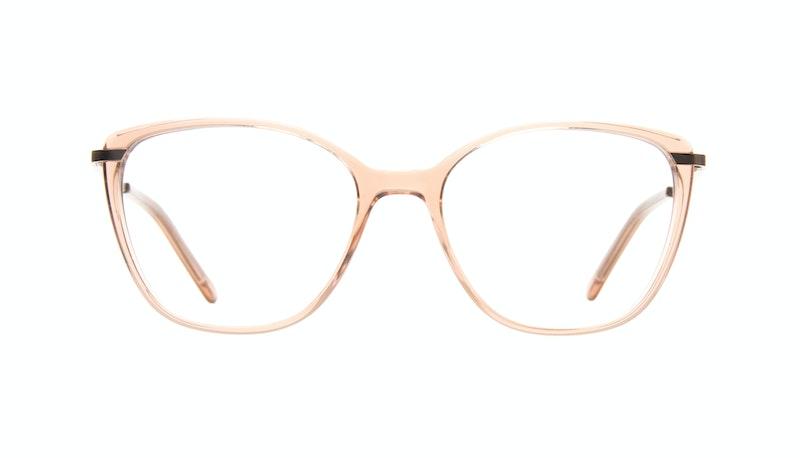 186cc3033594 Affordable Fashion Glasses Cat Eye Rectangle Square Eyeglasses Women  Illusion Rose