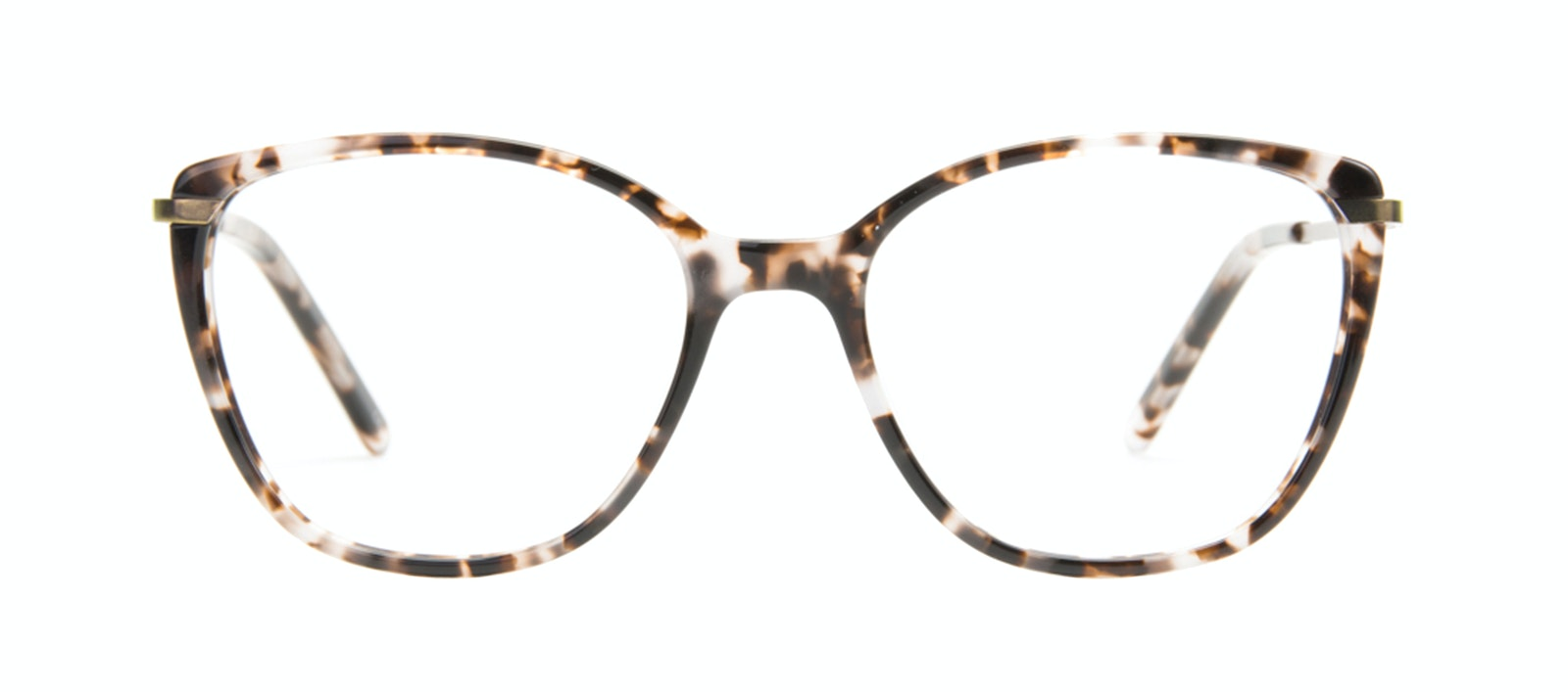 Affordable Fashion Glasses Cat Eye Rectangle Square Eyeglasses Women Illusion Sand Front