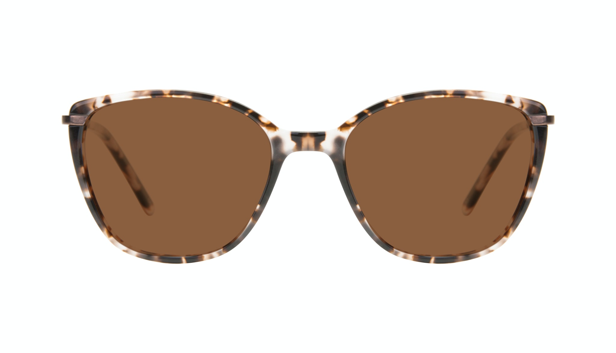 Affordable Fashion Glasses Cat Eye Rectangle Square Sunglasses Women Illusion Sand Front