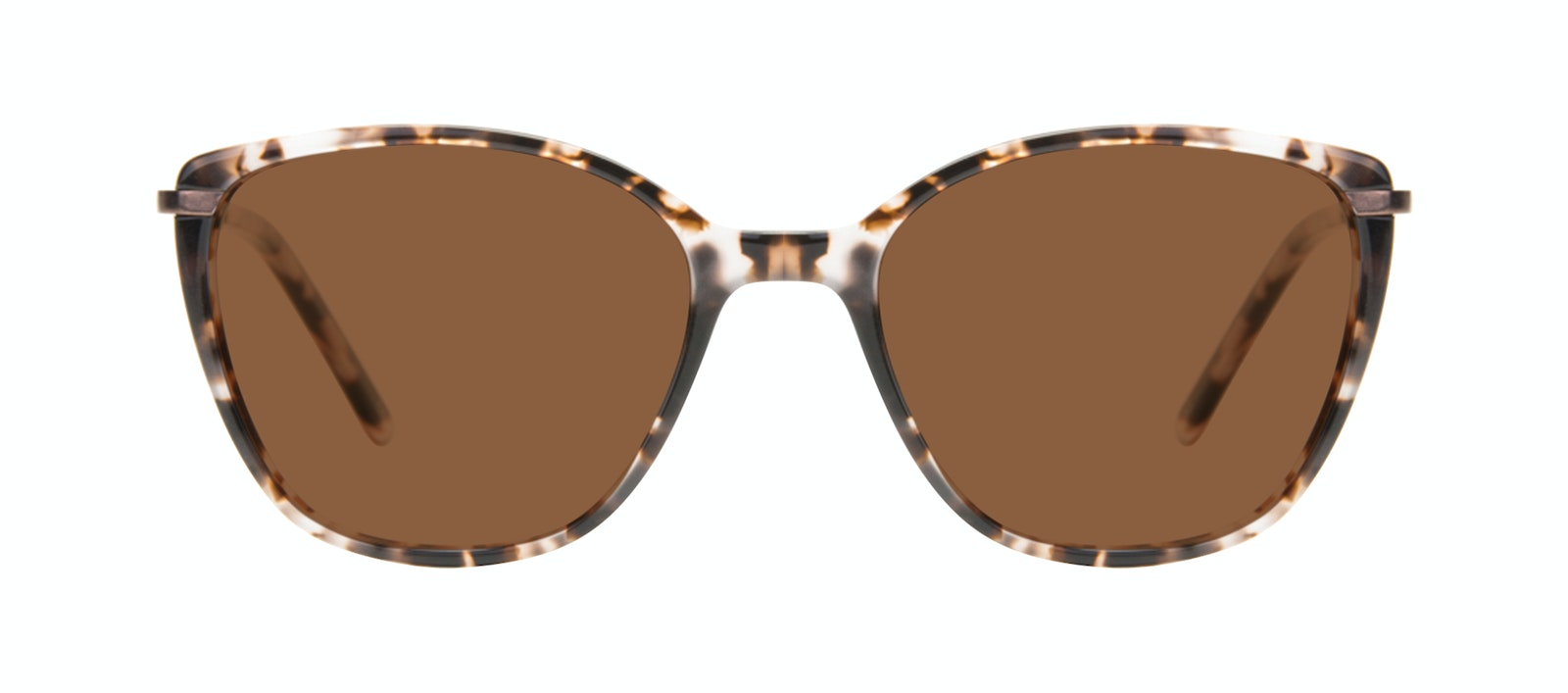 Affordable Fashion Glasses Rectangle Square Sunglasses Women Illusion Sand Front
