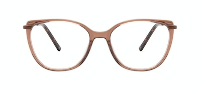 Affordable Fashion Glasses Rectangle Square Eyeglasses Women Illusion Terra Front