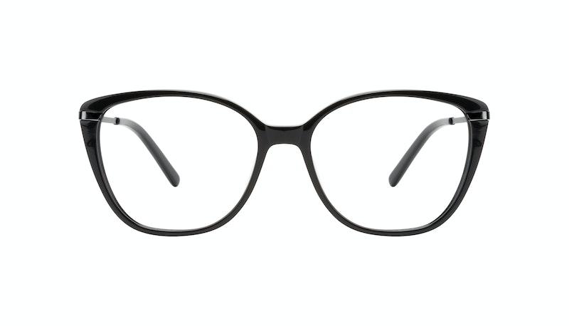 2c672b8f49e4 Affordable Fashion Glasses Cat Eye Rectangle Square Eyeglasses Women  Illusion Onyx