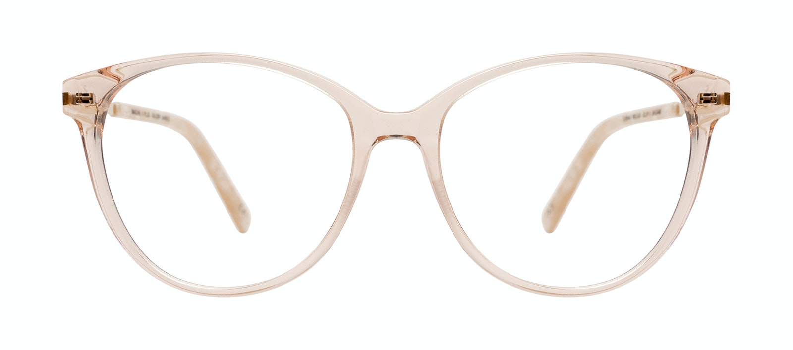 Affordable Fashion Glasses Cat Eye Eyeglasses Women Imagine II Plus Golden Marble Front