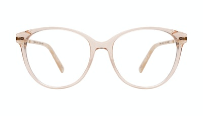 Affordable Fashion Glasses Cat Eye Eyeglasses Women Imagine II Plus Golden Marble Front
