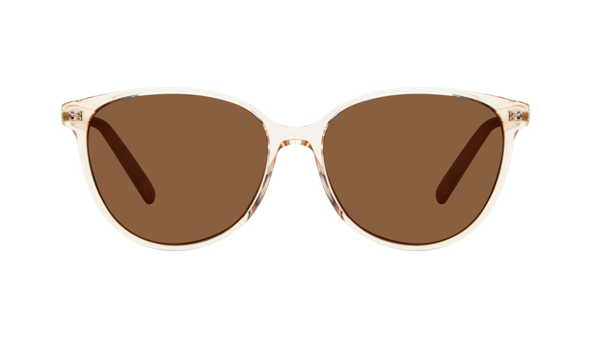 Affordable Fashion Glasses Round Sunglasses Women Imagine II Golden Marble Front