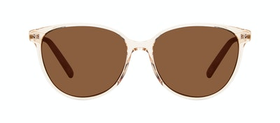 Affordable Fashion Glasses Cat Eye Sunglasses Women Imagine II Golden Marble Front
