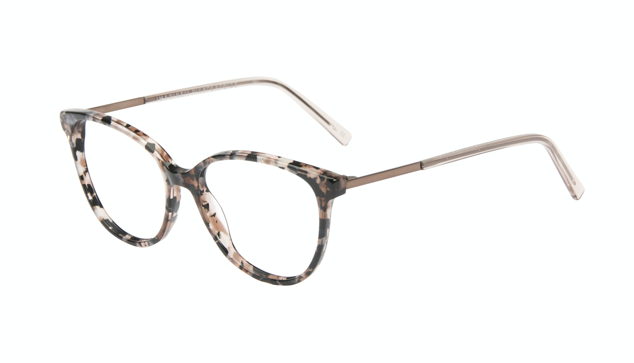 Affordable Fashion Glasses Cat Eye Eyeglasses Women Imagine II Pink Tortoise Tilt