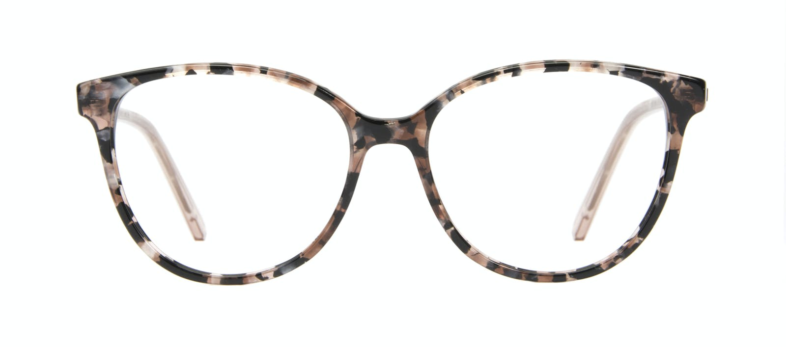 8a1881ae2a Affordable Fashion Glasses Round Eyeglasses Women Imagine II Pink Tortoise  Front