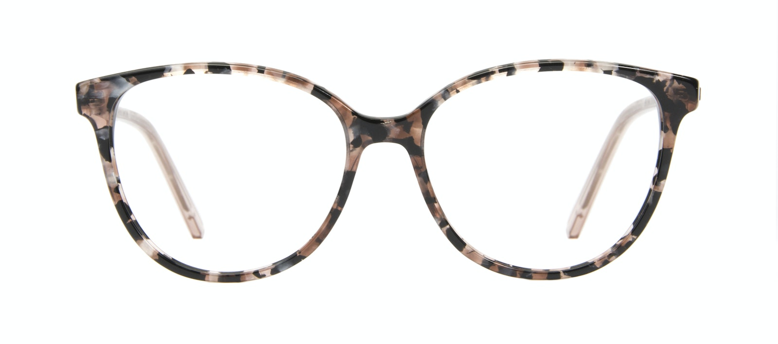 Affordable Fashion Glasses Cat Eye Eyeglasses Women Imagine II Pink Tortoise Front